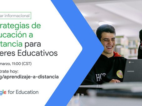 Estrategias de Educación a Distancia: Google for education