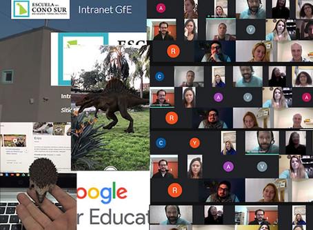 Lanzamento Intranet Google for Education en Escuela del Cono Sur Río Grande