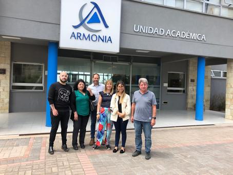 Escuela Cono Sur de Río Grande Visita  Colegio Armonía de Campana