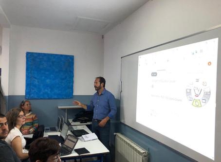 Escuela Julio Verne de Ushuaia, Tierra del Fuego, capacita en herramientas de Google