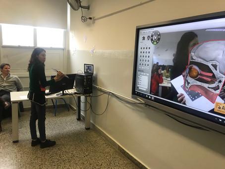 Curso piloto Capacitación Pizarra Escuela Escuela Técnica 32 Ciudad de Buenos Aires