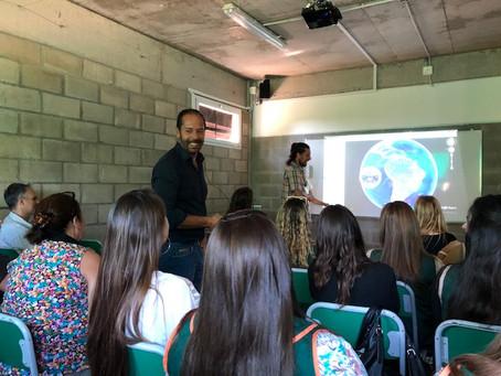 Colegio Lucero Norte Incorpora Pizarras electrónicas digitales