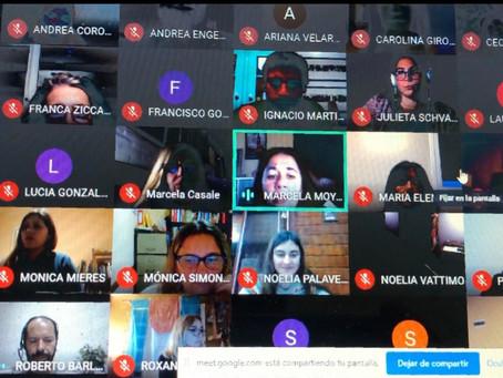 Capacitación Online Estrategias para la evaluación en línea Colegio Lucero Norte de Pilar