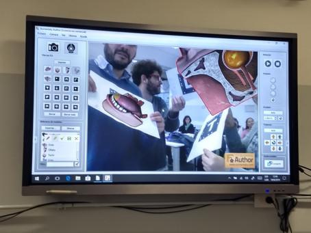 Capacitación Pantalla Digital Ministerio Educación CABA
