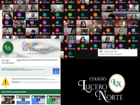 Colegio Lucero Norte crea su Intranet  con herramientas de Google para aprendizaje y capacitación.