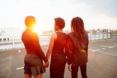 Grupo de amigos femeninos