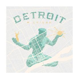 Detroit Street Map