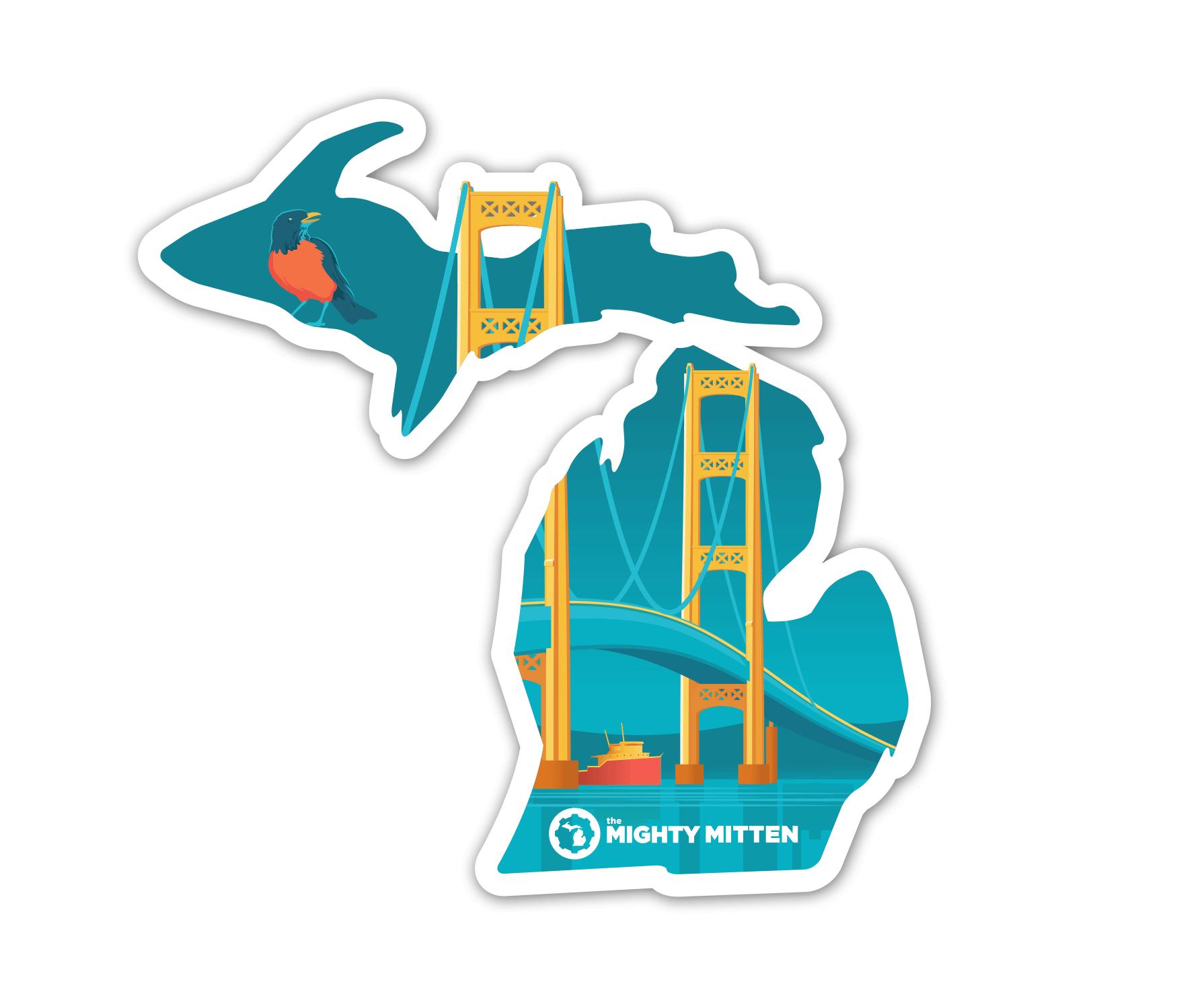 Mac Bridge Sticker