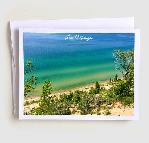 Lake Michigan - Michigan Greeting Card