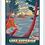 Thumbnail: Lake Superior - Michigan Travel Art Print