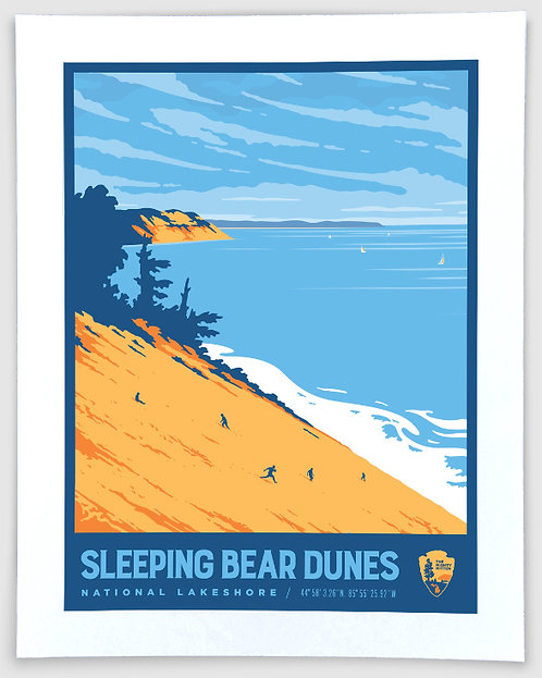 Sleeping Bear Dunes #3 - Michigan Travel Art Print