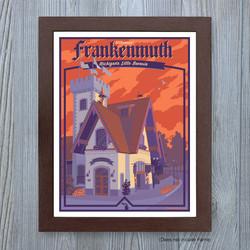 Frankenmuth Travel Art Print