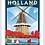 Thumbnail: De Zwaan, Holland - Michigan Travel Art Print