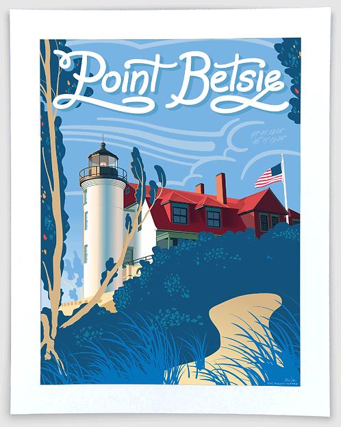 Point Betsie - Michigan Travel Art Print