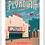 Thumbnail: Plymouth - Michigan Travel Art Print