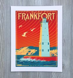 Frankfort, Michigan Travel Art Print
