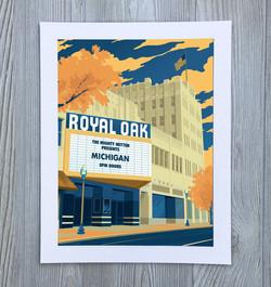 Royal Oak Art Print