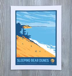 Sleeping Bear Dunes Art Print