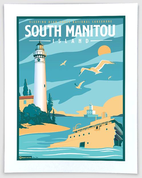 South Manitou Island - Michigan Travel Art Print