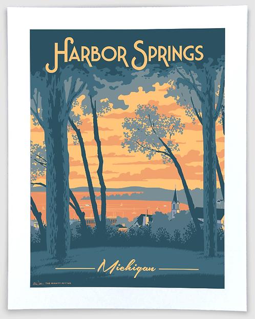 Harbor Springs - Michigan Travel Art Print