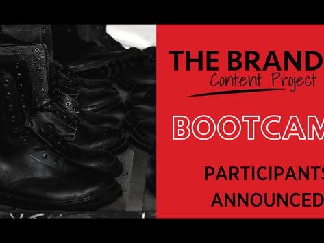 Branded Content Project announces BIPOC cohort participants
