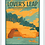 Thumbnail: Pictured Rocks (Lover's Leap) - Michigan Travel Art Print
