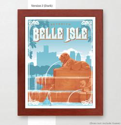 Belle Isle Art Print