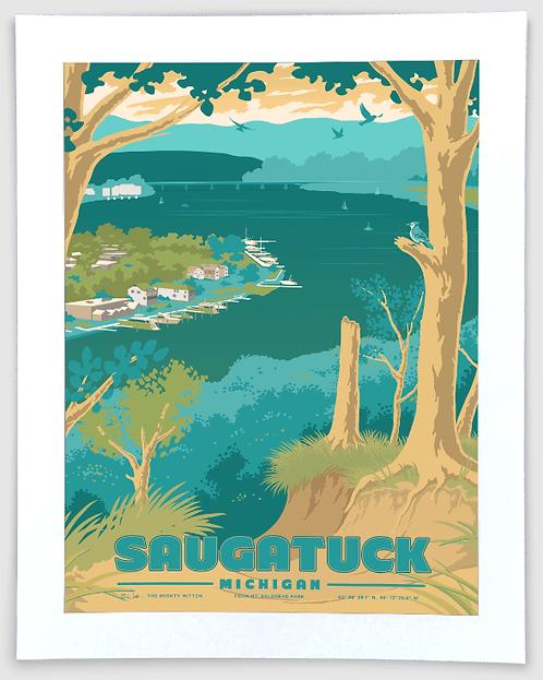Saugatuck - Michigan Travel Art Print