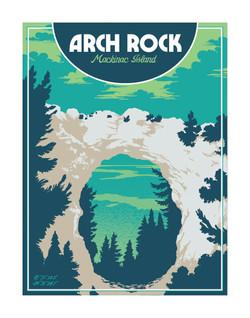 Arch Rock - Mackinac Island