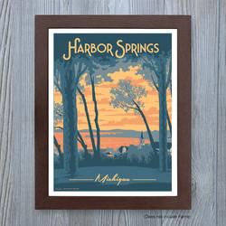 Harbor Springs, Michigan Art Print