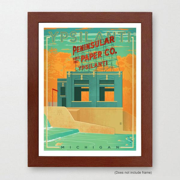 Ypsilanti Art Print