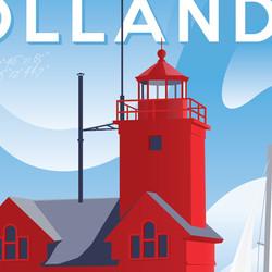 Holland Michigan Art Print