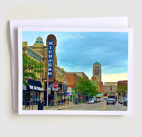 Ann Arbor - Michigan Greeting Card