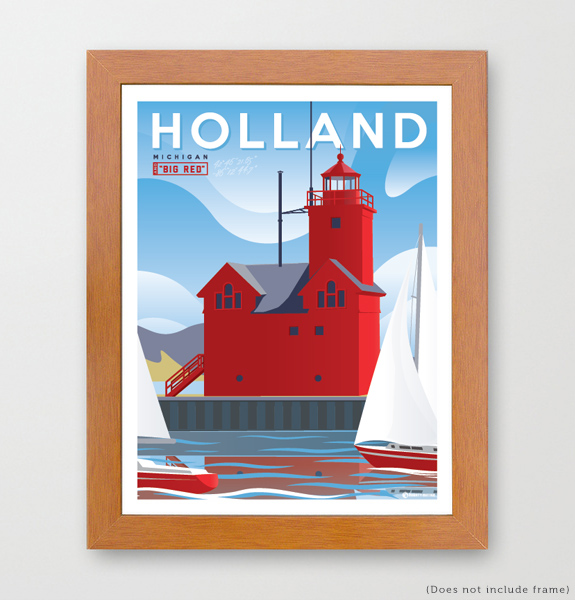 Holland Michigan Art Print
