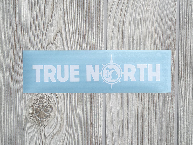 True North Decal