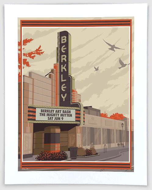 Berkley - Michigan Travel Art Print