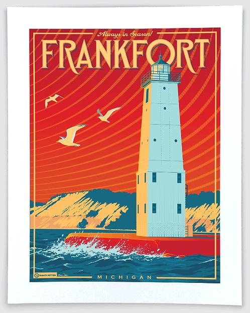 Frankfort - Michigan Travel Art Print