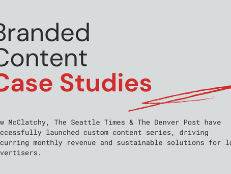 Case studies: McClatchy, The Seattle Times & The Denver Post share branded content best practices