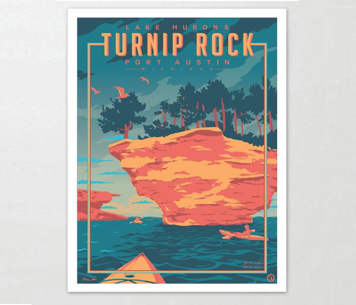 Port Austin Art Print