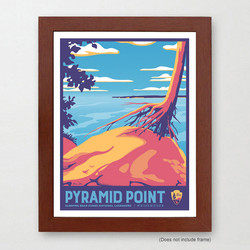 Pyramid Point Michigan Art Print
