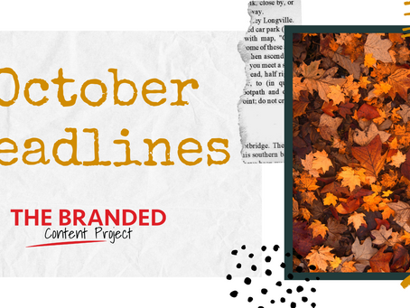 Lock in Q4 sales with October content marketing ideas