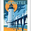 Thumbnail: Manistee - Michigan Travel Art Print