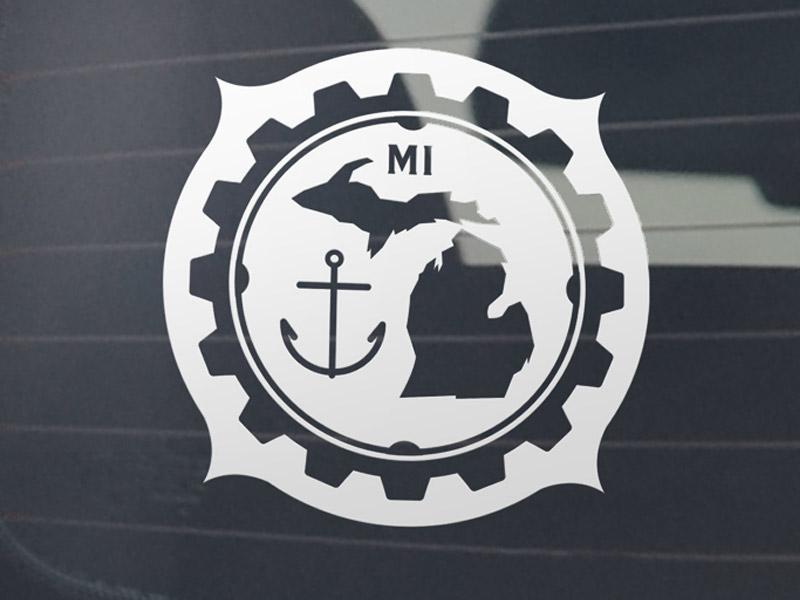 Michigan Gear Emblem
