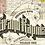 Thumbnail: Grand Rapids Sanborn Insurance Map Art Poster Print