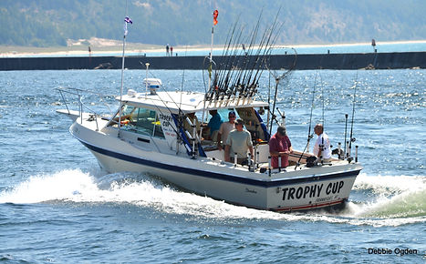 The Trophy Cup - Frankfort MI Charter Fishing Boat