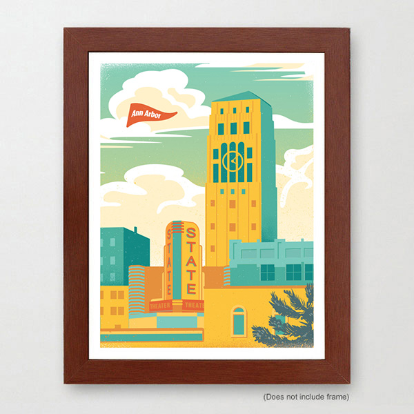 Ann Arbor Travel Art