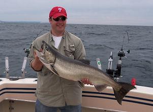 Lake Michigan Salmon