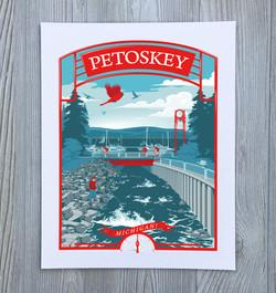 Petoskey, Michigan Art Print