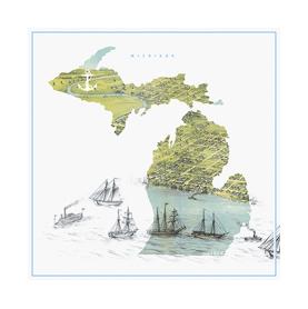 Ships Along the Shore