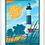 Thumbnail: Big Sable Light, Ludington State Park - Michigan Travel Art Print
